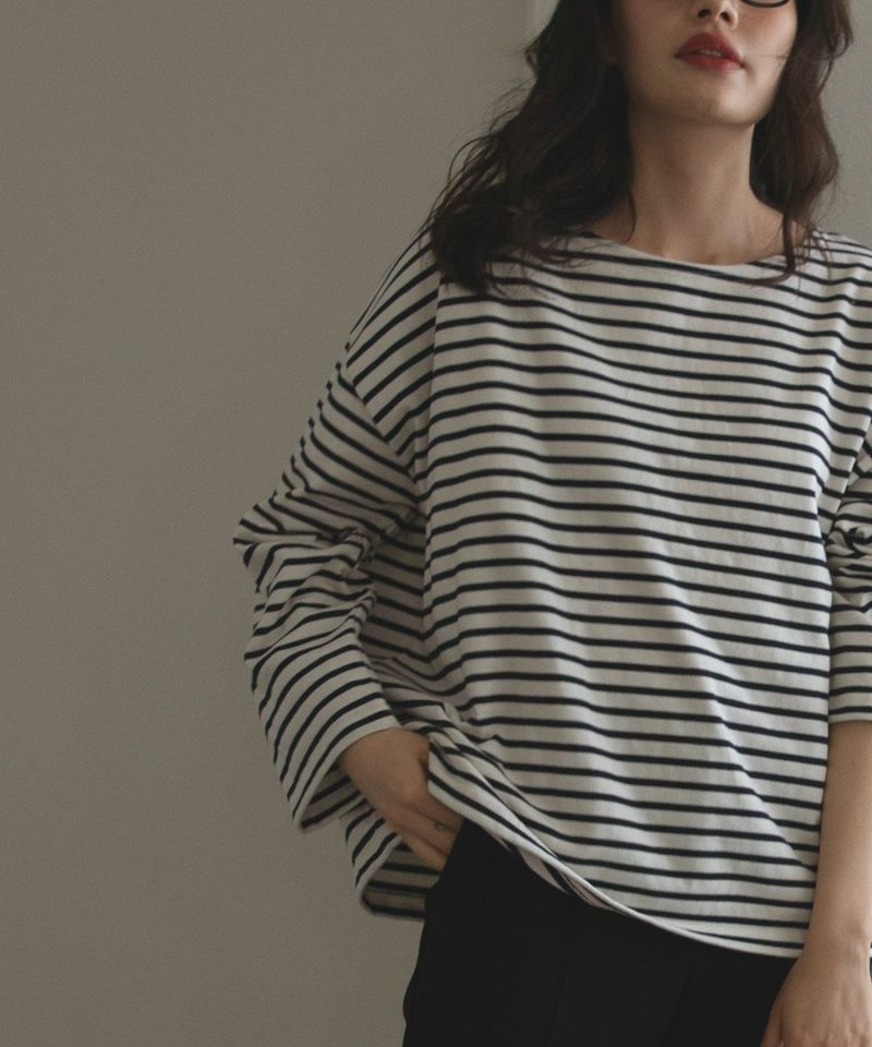 FRENCH BORDER TEE